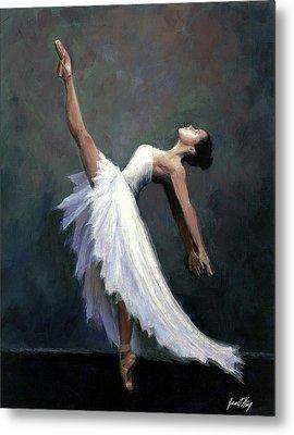 Beautiful Dancer Metal Print by Janet King