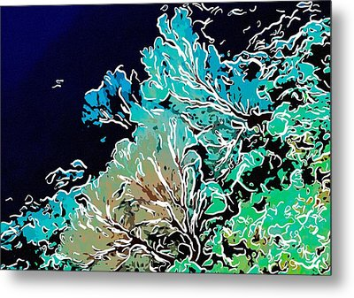 Beautiful Sea Fan Coral 1 Metal Print by Lanjee Chee