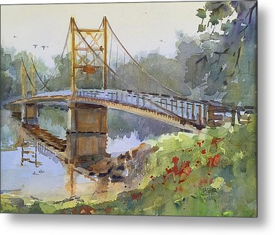 Beaver Bridge Metal Print by Spencer Meagher