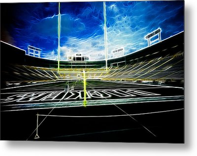 Before The Big Game Metal Print by Lawrence Christopher