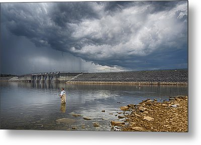 Before The Storm Metal Print by Steven  Michael