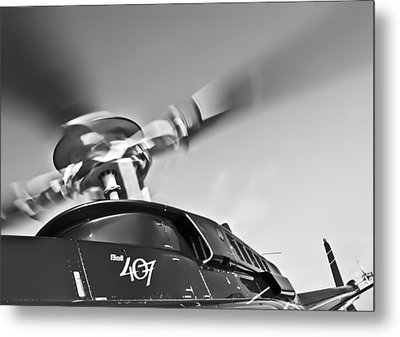 Bell 407 Metal Print by Patrick M Lynch
