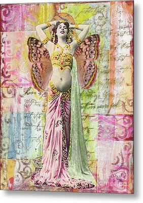 Belly Dancer Metal Print by Desiree Paquette