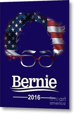 Bernie Sanders 2016 Metal Print by Marvin Blaine