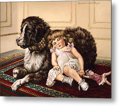 Best Friends Metal Print by Richard De Wolfe