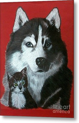 Best Friends Metal Print by Terri Mills
