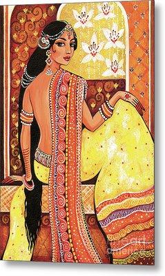 Bharat Metal Print by Eva Campbell