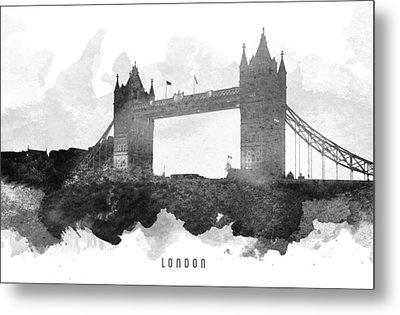 Big Ben London 11 Metal Print by Aged Pixel