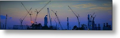 Big Boy Erector Set Metal Print by John  Glass