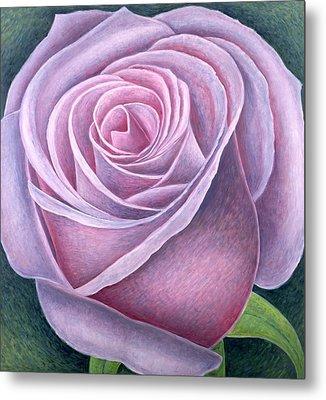 Big Rose Metal Print by Ruth Addinall