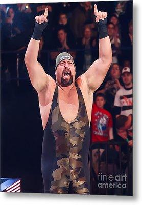 Big Show Metal Print by Wrestling Photos