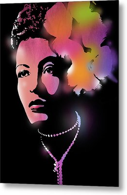 Billie Holiday Metal Print by Paul Sachtleben