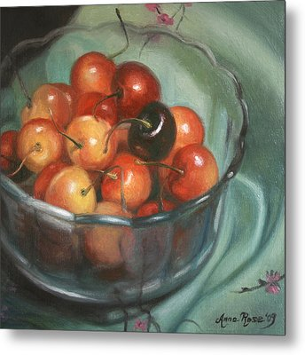 Bing Different Metal Print by Anna Rose Bain