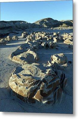 Bisti Wilderness Area At Sunup 31 Metal Print by Jeff Brunton