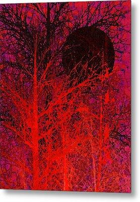 Black Moon Metal Print by Richard Rizzo
