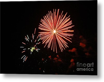Blast And A Half Metal Print by Norman  Andrus
