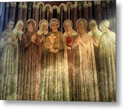 Blessing Of Saints Metal Print by Diana Haronis