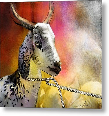 Blessings Be Upon You Metal Print by Miki De Goodaboom