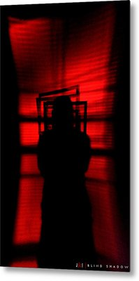 Blind Shadow Metal Print by Jonathan Ellis Keys