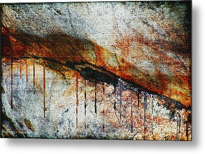 Blood From A Stone Metal Print by RC deWinter