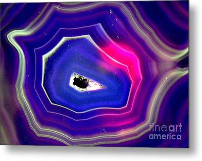 Blue Magic Metal Print by Angelika Heidemann