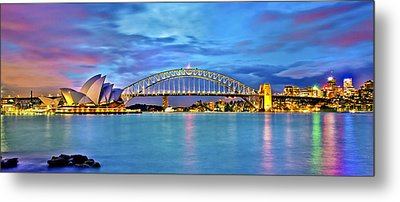 Blue Harbour Metal Print by Az Jackson