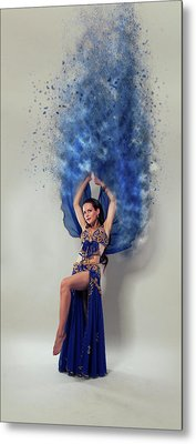 Blue Isthe Colour Metal Print by Stephen Smith