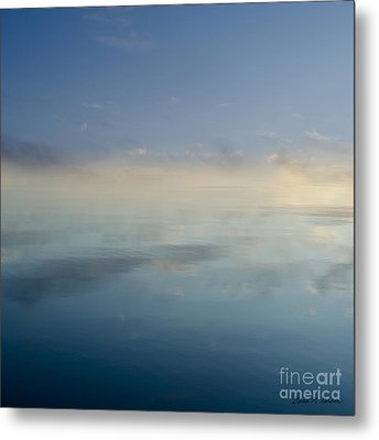 Blue Morning At Glendale Metal Print by Dave Gordon