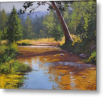 Blue Mountains Coxs River Metal Print by Graham Gercken
