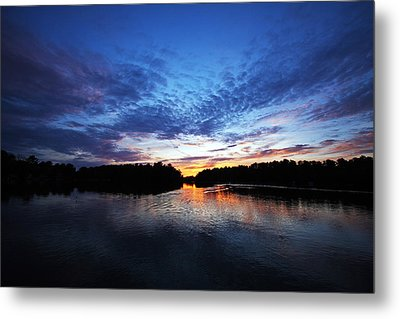 Blue Sunset Metal Print by Ty Helbach