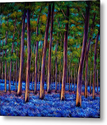Bluebell Wood Metal Print by Johnathan Harris