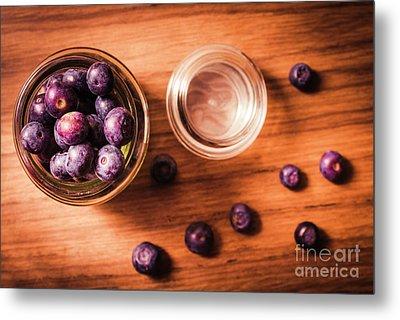 Blueberry Kitchen Still Life Metal Print by Jorgo Photography - Wall Art Gallery