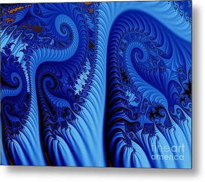 Blues Metal Print by Ron Bissett