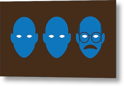Bluth Man Group Metal Print by Michael Myers