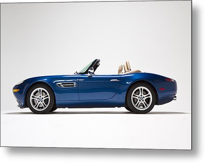 Bmw Z8 Metal Print by Dean Farrell