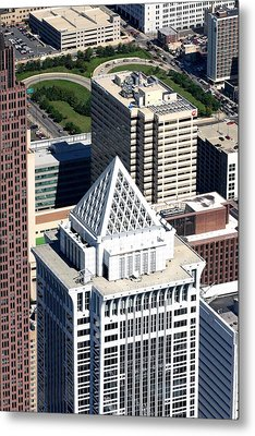 Bny Mellon Center 1735 Market Street Philadelphia Pa 19103 2998 Metal Print by Duncan Pearson