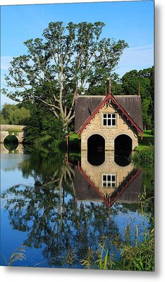 Boathouse Metal Print by Joe Burns
