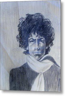 Bob Dylan In The Rock Years Metal Print by Judith Redman