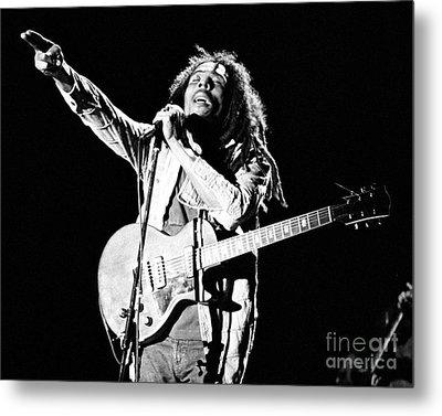 Bob Marley 1978 Metal Print by Chris Walter