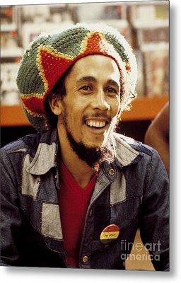 Bob Marley 1979 Metal Print by Chris Walter