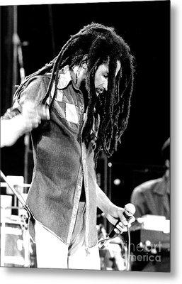 Bob Marley 1979 Dreads Metal Print by Chris Walter
