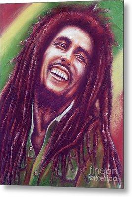 Bob Marley Metal Print by Anastasis  Anastasi