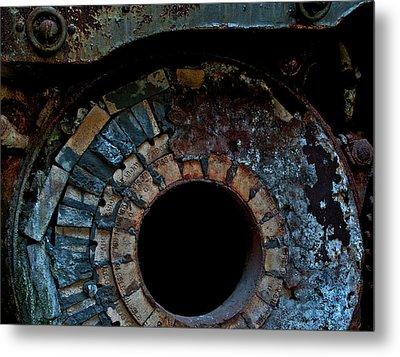 Boiler Metal Print by Murray Bloom