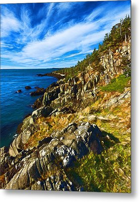 Bold Coast 3 Metal Print by Bill Caldwell -        ABeautifulSky Photography