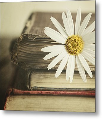 Bookmarked Metal Print by Amy Weiss