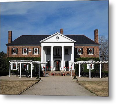 Boone Hall Plantation Charleston Sc Metal Print by Susanne Van Hulst