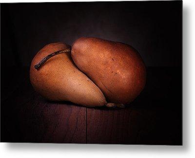 Bosc Pears Metal Print by Tom Mc Nemar