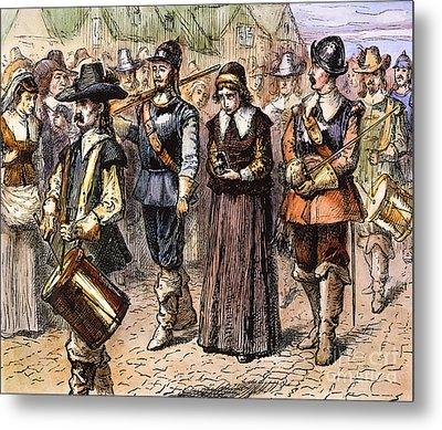 Boston: Mary Dyer, 1660 Metal Print by Granger