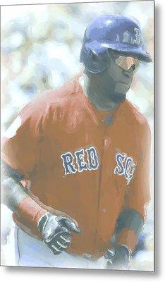 Boston Red Sox David Ortiz 2 Metal Print by Joe Hamilton