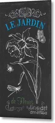 Botanique 2 Metal Print by Debbie DeWitt
